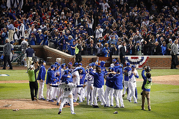 MLB: OCT 22 NLCS Game 6 - Dodgers at Cubs