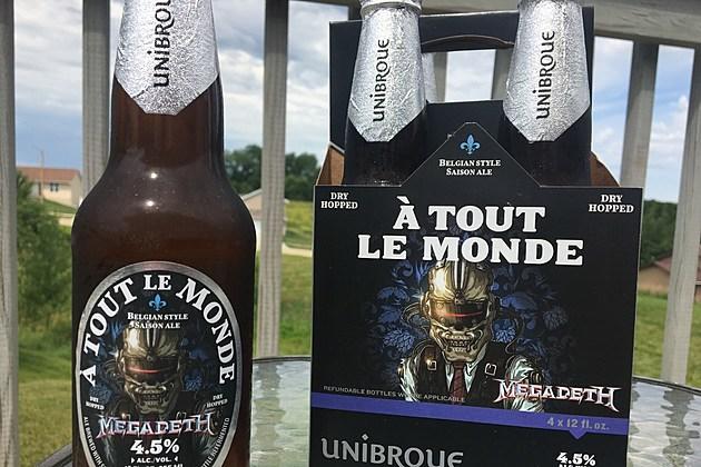 Jaymz Finds The Megadeth Beer In Cedar Rapids